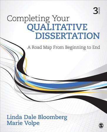 Completing Your Qualitative Dissertation PDF