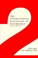 The International Dictionary of Psychology PDF