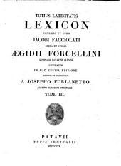 *Lexicon totius Latinitatis: 3, Volume 5