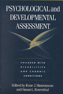 Psychological and Developmental Assessment Book