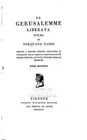 La Gerusalemme liberata: poema di Torquato Tasso, Volume 2