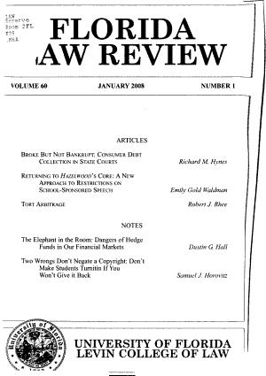 Florida Law Review PDF