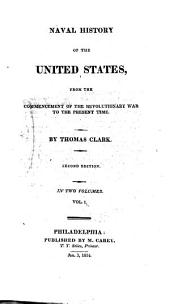 Naval history of the United States, from the commencement of the revolutionary war
