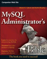 MySQL Administrator s Bible PDF