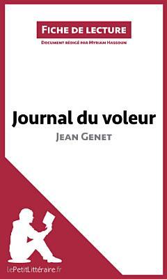 Journal du voleur de Jean Genet  Fiche de lecture  PDF