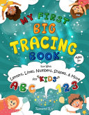 MY First Big Tracing Book   ABC And 123 Book