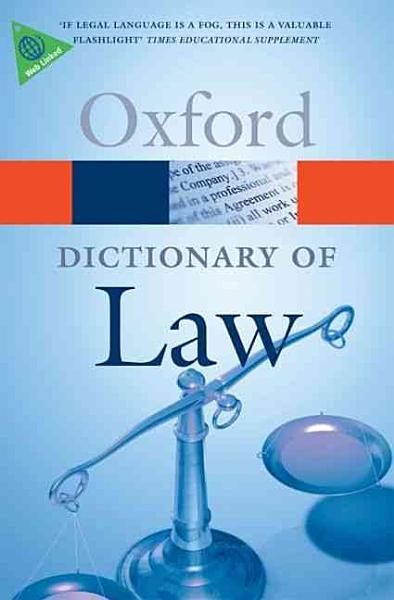 A Dictionary of Law