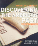 Discovering The American Past Book
