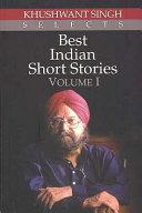 Best Indian Short Stories   Volume 1 PDF