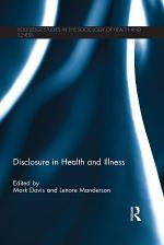 Disclosure in Health and Illness
