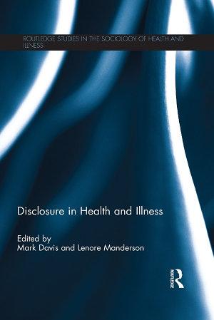 Disclosure in Health and Illness PDF