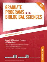 Peterson S Graduate Programs In The Biological Sciences 2012 Book PDF