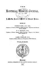 The Montreal Medical Journal: Volume 19
