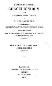 Synonymia Insectorum oder Versuch einer Synonymie aller bisher bekannten Insecten, nach Fabricii Systema Eleutheratorum geordnet etc: Volume 13