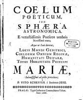 Coelum poeticum, seu sphaera astronomica