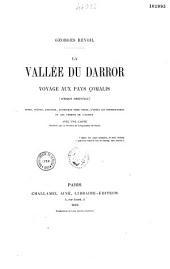 La Vallée du Darror: voyage aux pays çomalis (Afrique orientale)