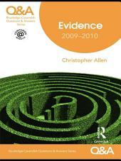 Q&A Evidence 2009-2010: Edition 8