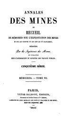Annales Des Mines PDF