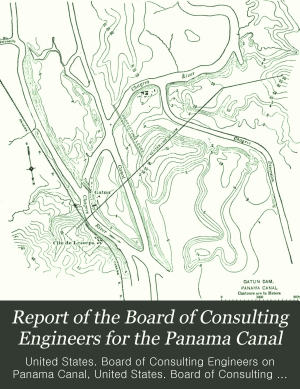 Report of the Board of Consulting Engineers for the Panama Canal PDF