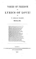 Voices of Freedom and Lyrics of Love PDF
