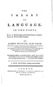 The Theory of Language
