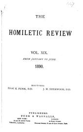 The Homiletic Review: Volume 19