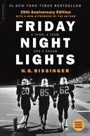 Friday Night Lights 25th Anniversary Edition Book PDF