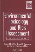 Environmental Toxicology and Risk Assessment PDF