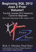 Beginning SQL 2012 Joes 2 Pros Volume 1