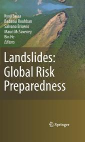 Landslides: Global Risk Preparedness