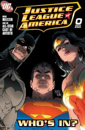 Justice League of America (2006-) #0