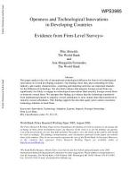 Openness and Technological Innovations in Developing Countries PDF