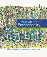Human Exceptionality  School  Community  and Family PDF
