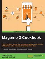 Magento 2 Cookbook PDF