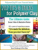The Polymer Clay Ultimate Guide: 202 Polymer Clay Tips and Tricks to Make Working with Polymer Clay Easier