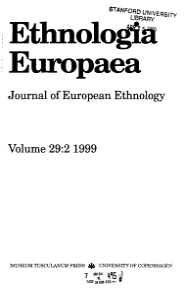 Ethnologia Europaea PDF