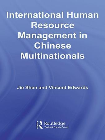 International Human Resource Management in Chinese Multinationals PDF