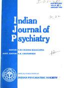 Indian Journal of Psychiatry