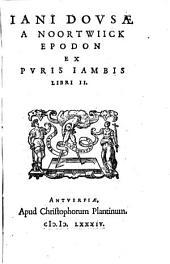Epodon ex puris iambis