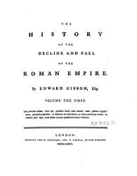 The History Of The Decline And Fall Of The Roman Empire Volume The First Book PDF