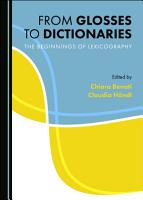 From Glosses to Dictionaries PDF