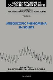 Mesoscopic Phenomena in Solids