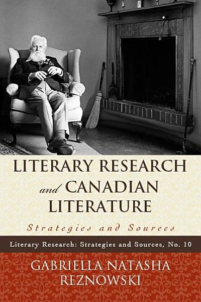 Literary Research and Canadian Literature PDF