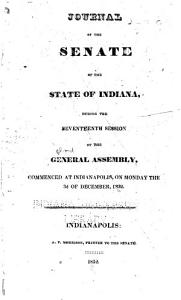 Journal of the Senate of the State of Indiana at Their     Session PDF