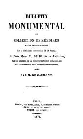 Bulletin monumental: Volume37