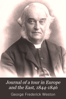 Journal of a Tour in Europe and the East PDF