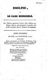 Isoline, ou Le page ensorcelé: comédie-vaudeville en un acte
