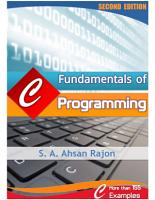 Fundamentals of Computer Programming with C PDF