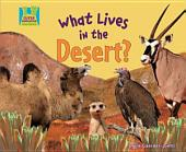 What Lives in the Desert?