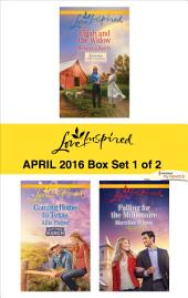 Harlequin Love Inspired April 2016 - Box Set 1 of 2: Elijah and the Widow\Coming Home to Texas\Falling for the Millionaire